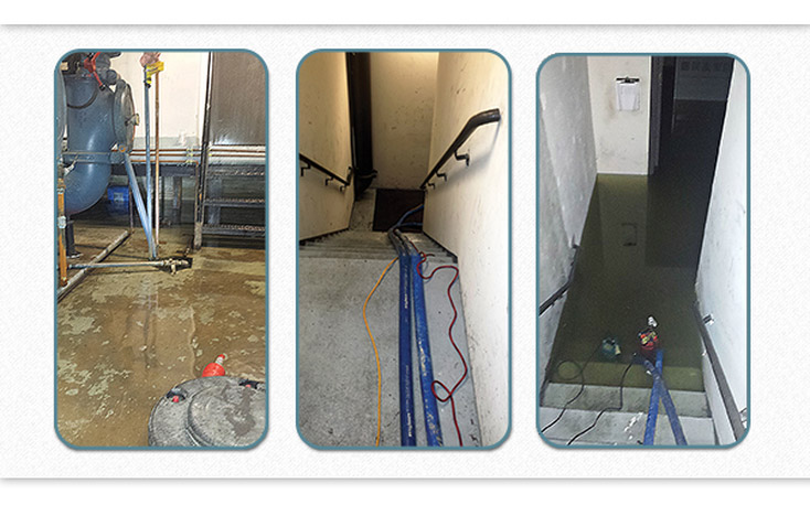 water damage recovery process