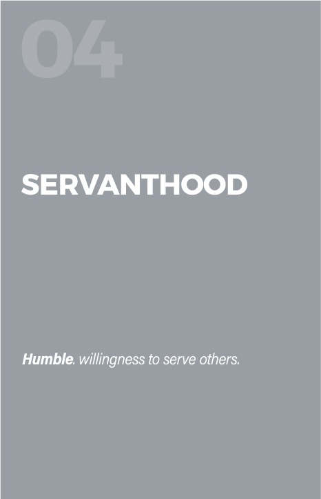 Servanthood